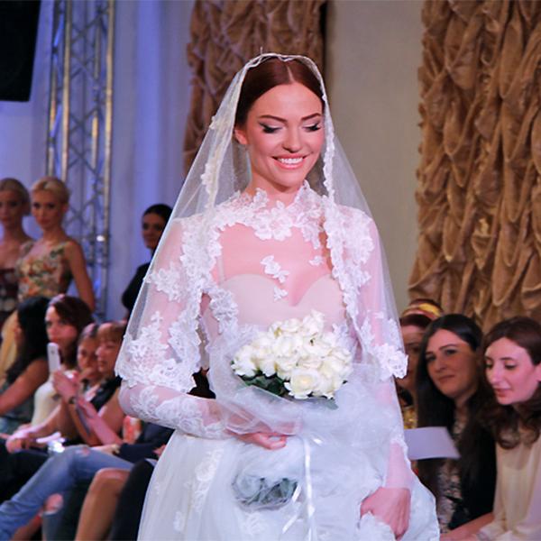 Lusine Tovmasyan Vahan Khachatryan fashion show