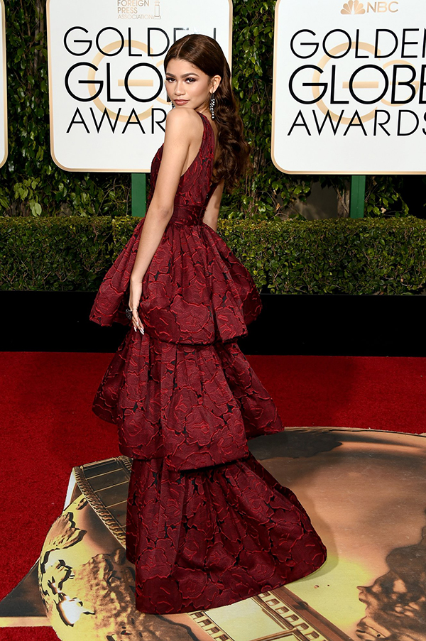 Zendaya in Marchesa