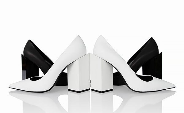 Pierre-Hardy_block-heeled 'Monolith' pumps