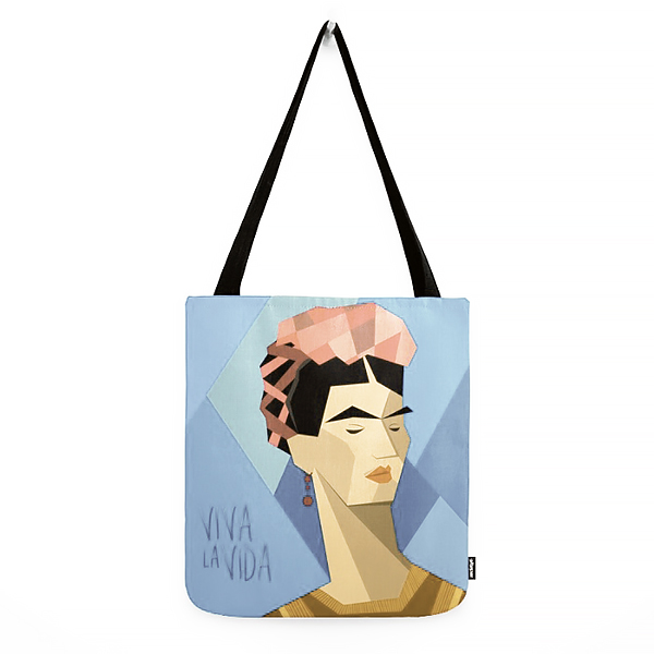 Frida Kahlo Cubism by Design SNS - Sinais Velasco