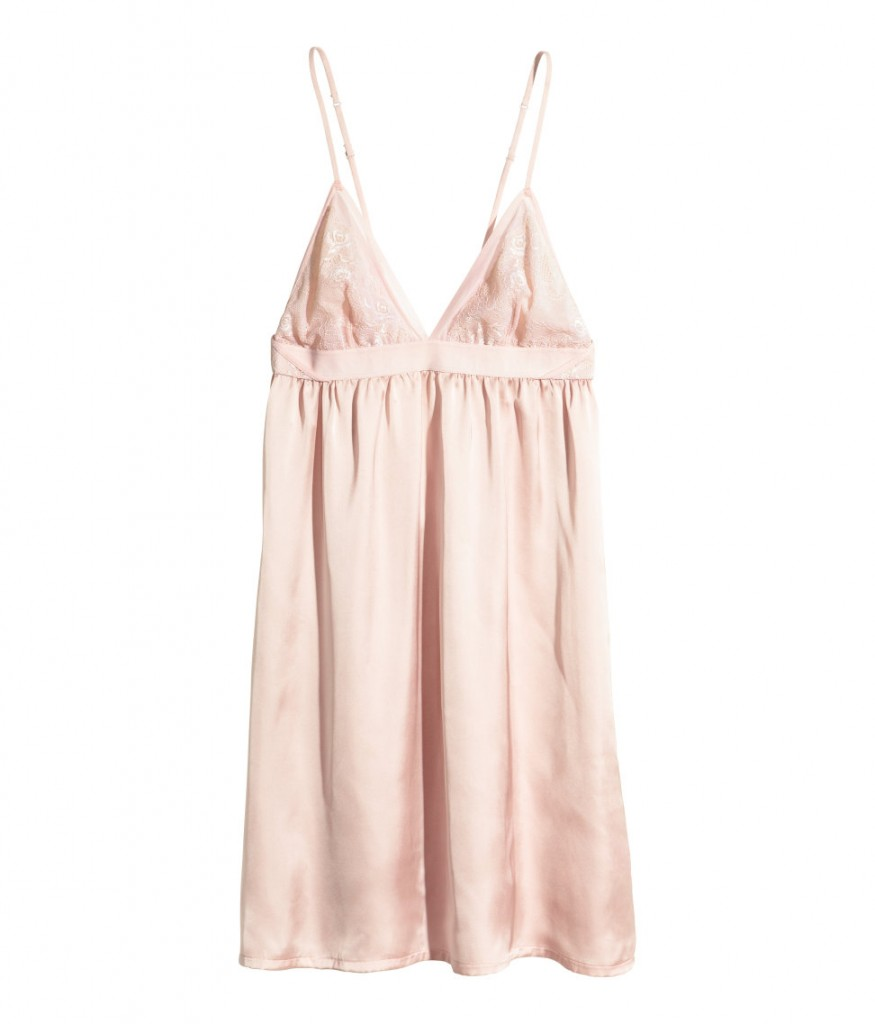 H&M nightslip with lace