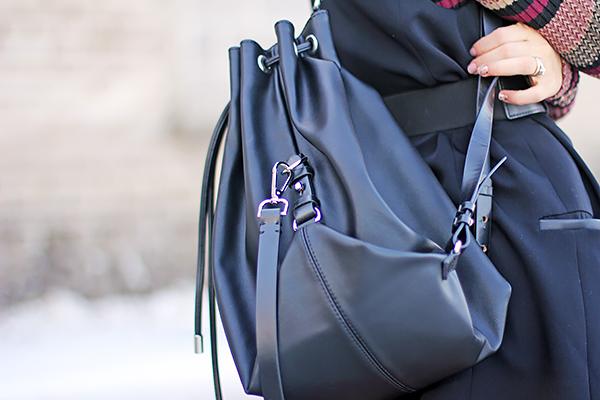 newsboy cap backpack
