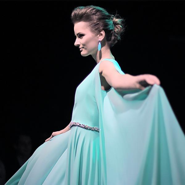 TFW Liina stein green dress