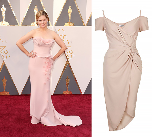 Jennifer Jason Leigh in Marchesa.