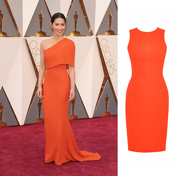 OLIVIA MUNN In Stella McCartney and Forevermark Diamonds.