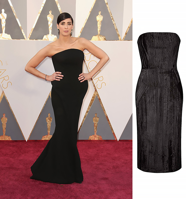 Sarah Silverman VS Topshop dress By Unique 295EUR