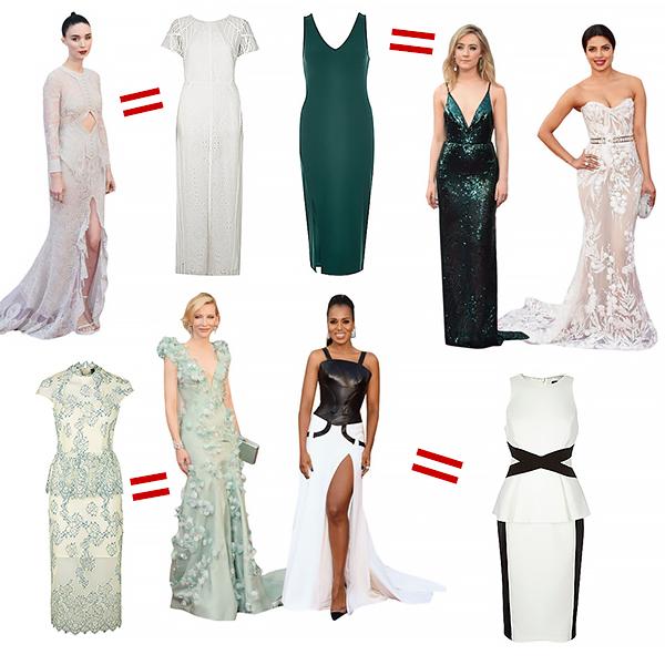 oscar 2016 gowns