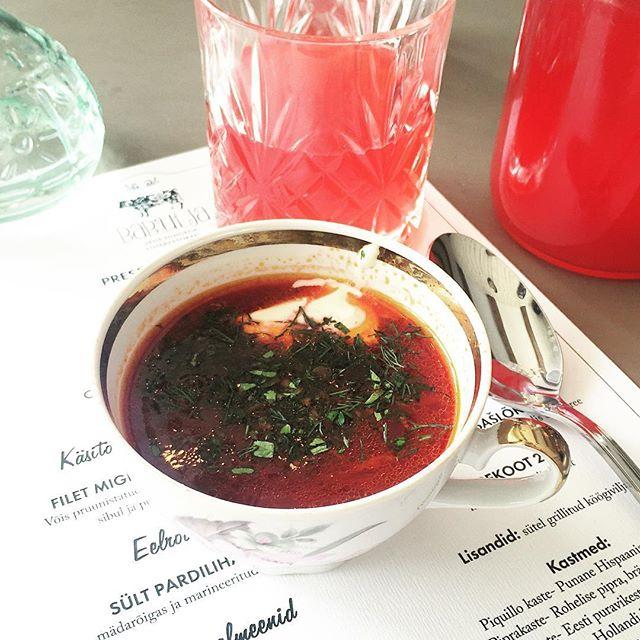 babulja restaurant tallinn borsh soup