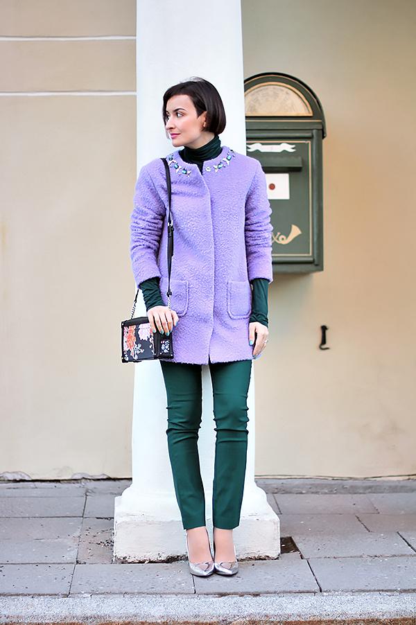 Purple green 1