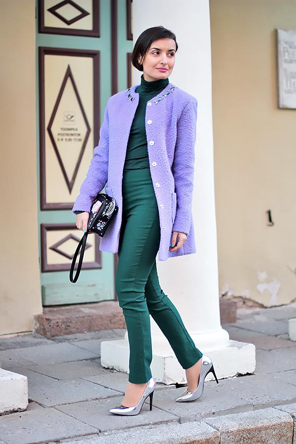 Purple green 3