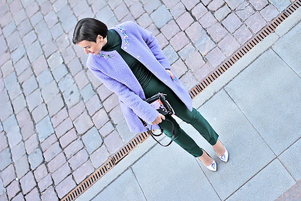 Purple green 7