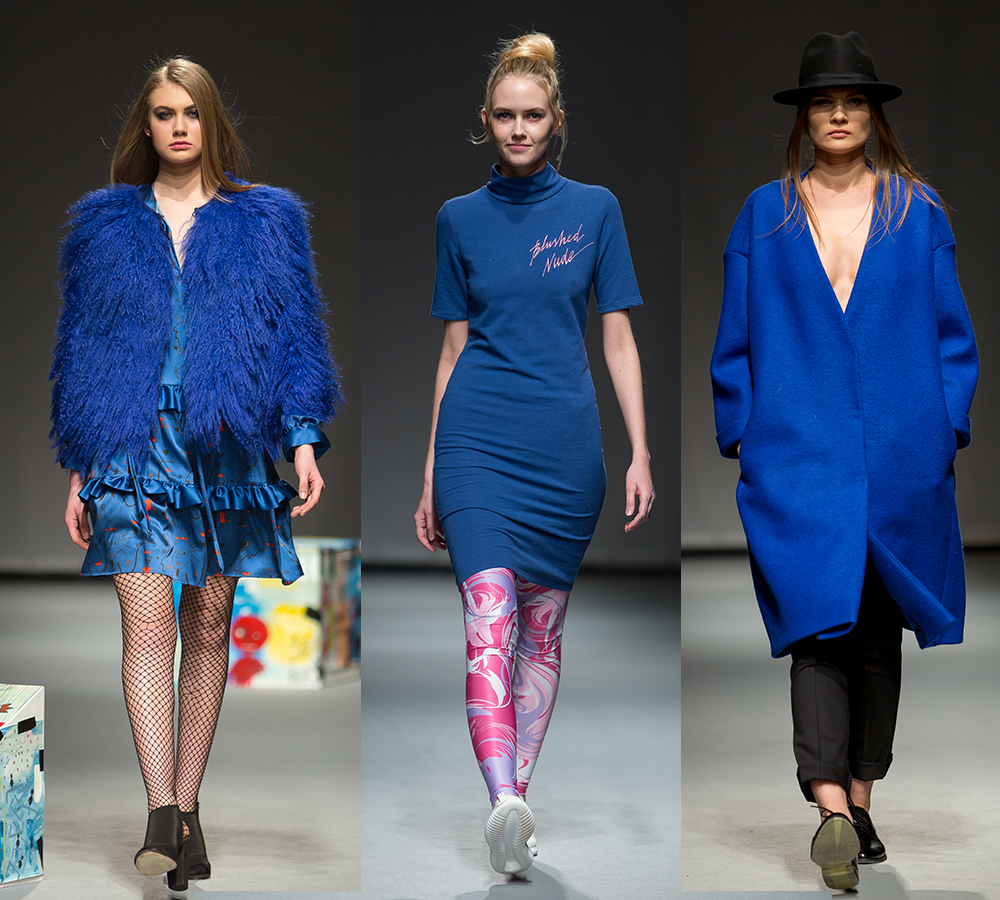 blue trend Riga Fashion Week 2016