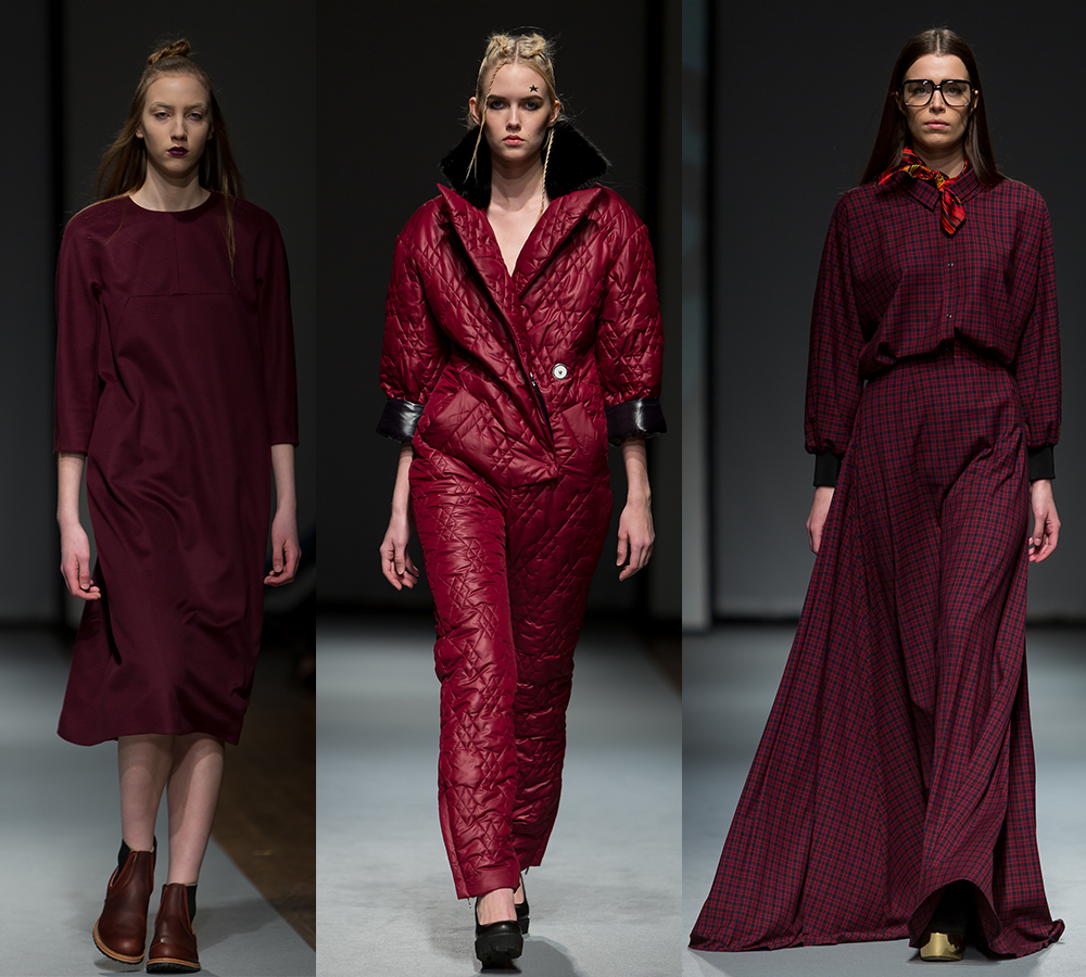 marsala trend Riga Fashion Week 2016