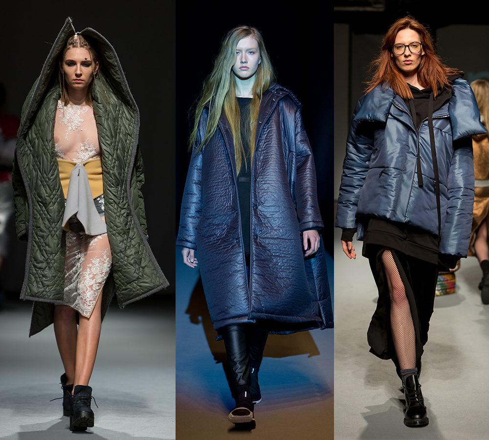 quilted trend Riga Fashion Week 2016