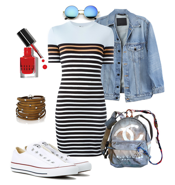 Converse sneakers outfit idea 1