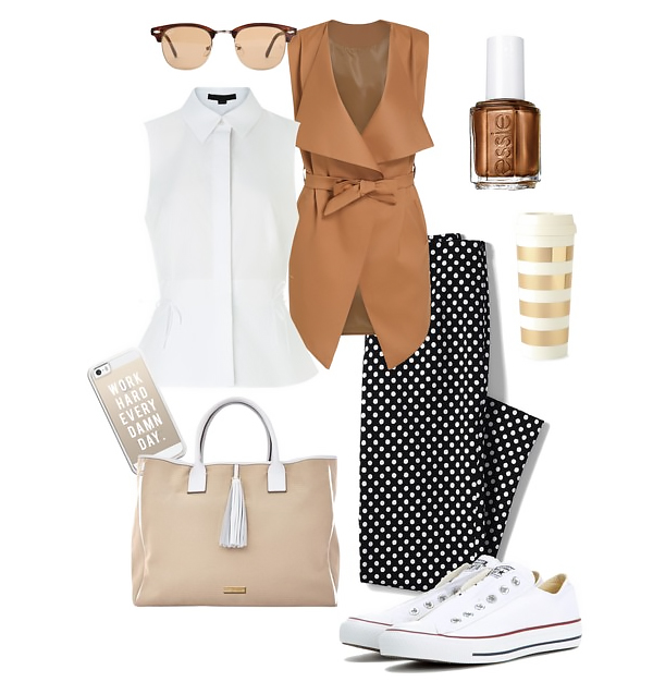 Converse sneakers outfit idea 2