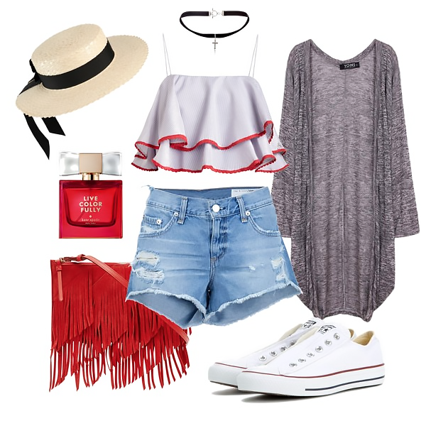 Converse sneakers outfit idea 4