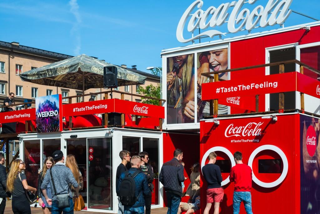 Coca Cola pop up store Tallinn -2