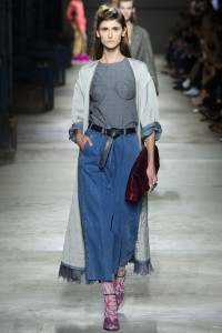 denim skirt Dries Van Noten