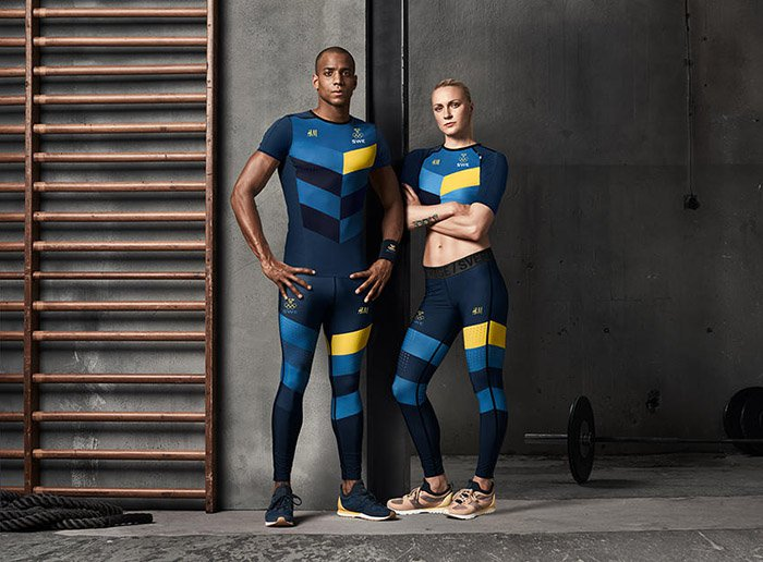 Olympics Rio 2016 HM sweden uniform