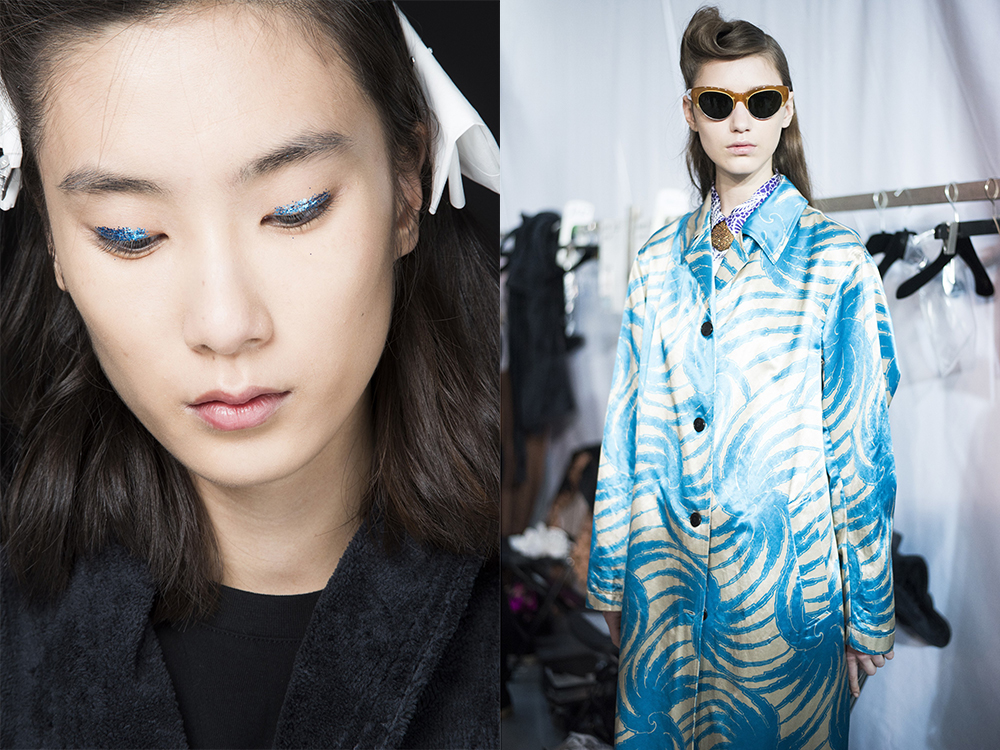 Dries van noten blue shades