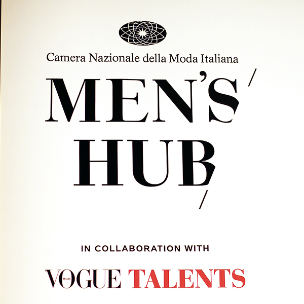 Men's Hub. Vogue Talents