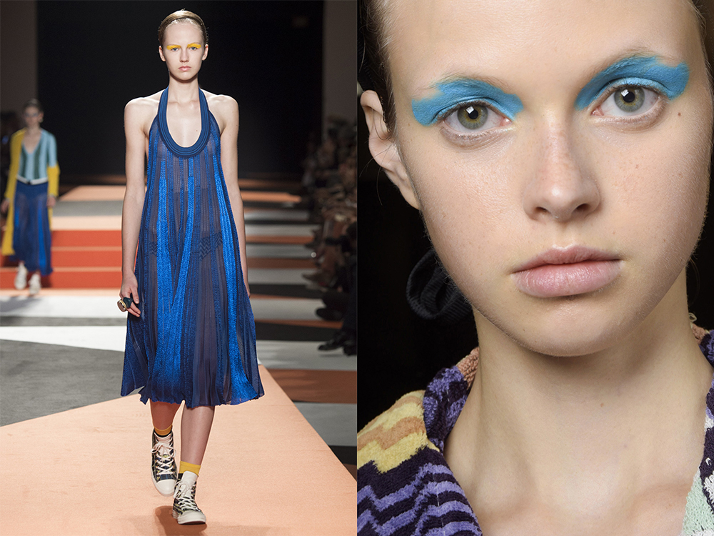 Missoni blue shades
