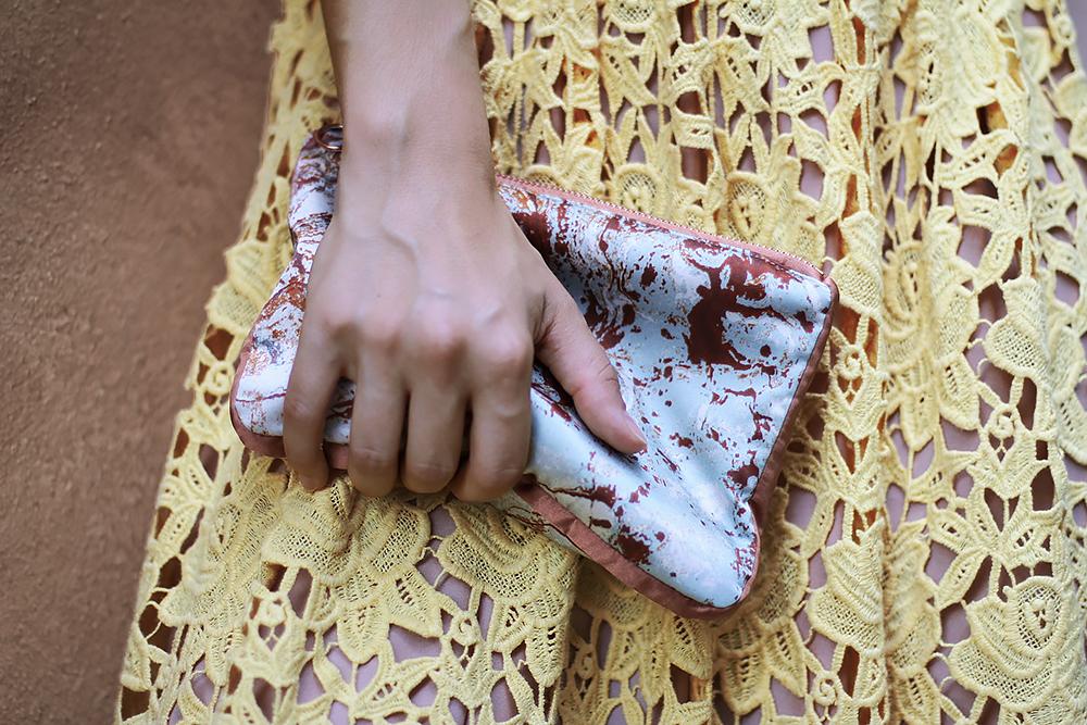 Yellow Lace Dress 4