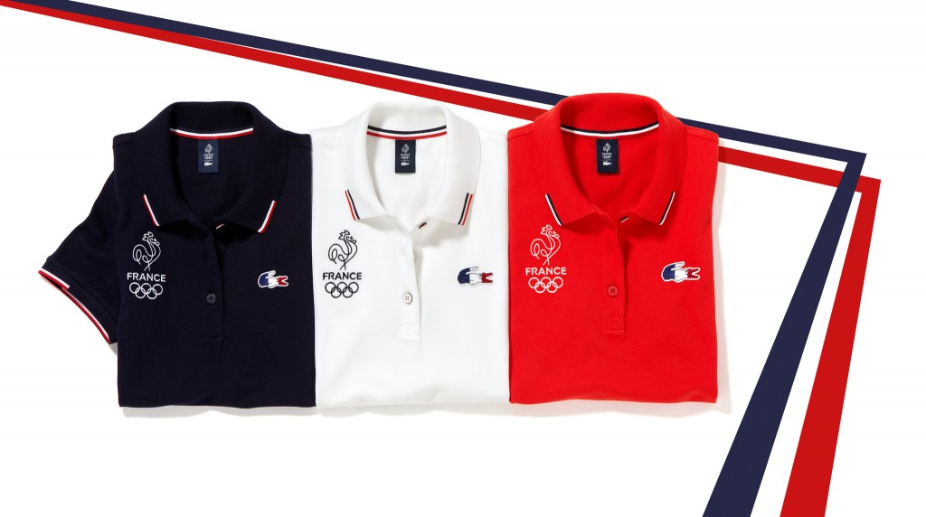 Olympics Rio 2016 france team uniform