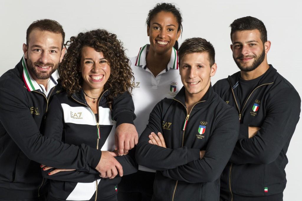 Giorgio Armani Italy Olympics Rio 2016