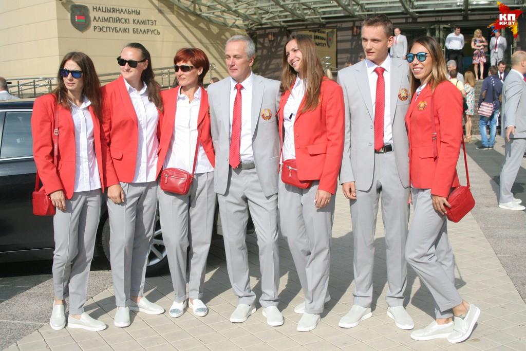 Belarus uniform Olympics 2016 Rio