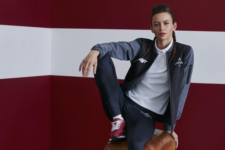 Olympics 2016 Rio Latvia uniform