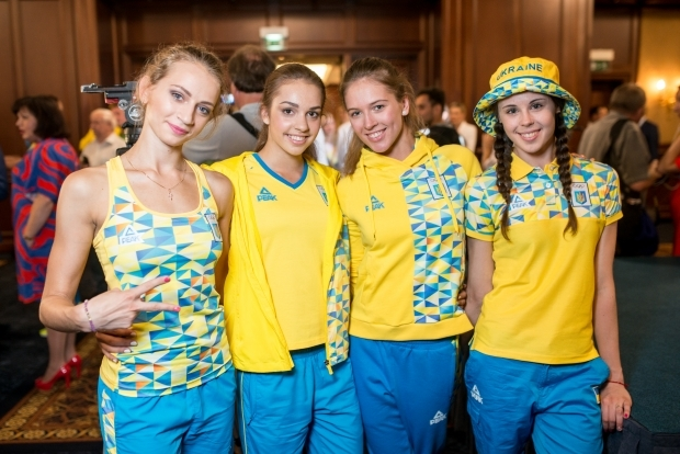 Ukrainian uniform Olympics Rio 2016