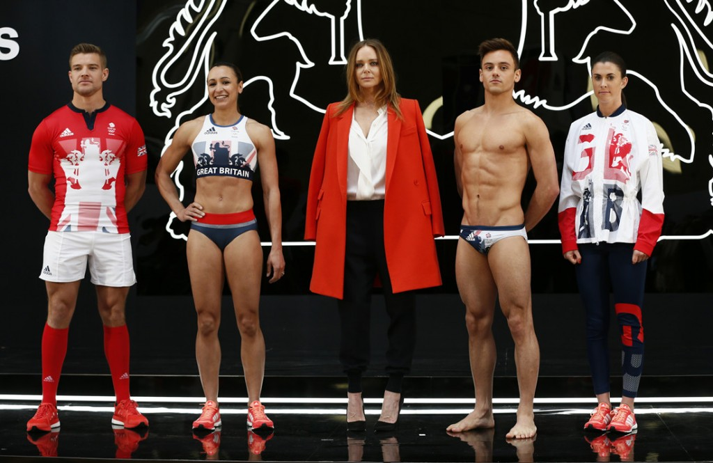 GREAT BRITAIN Olympics Rio 2016 Stella McCartney