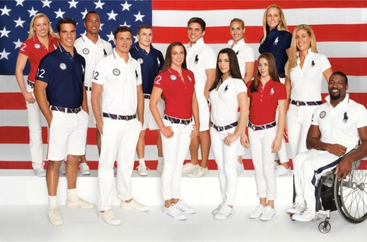 Olympics Rio 2016 USA TEAM UNIFORM