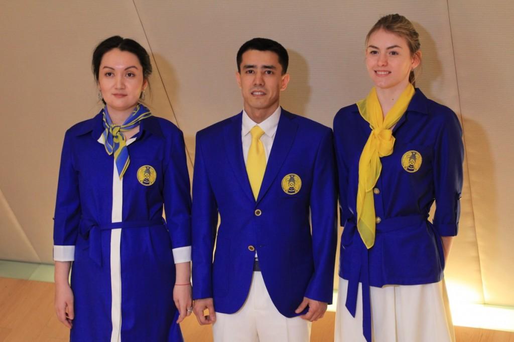 Kazakhstan uniform Olympics 2016 Rio