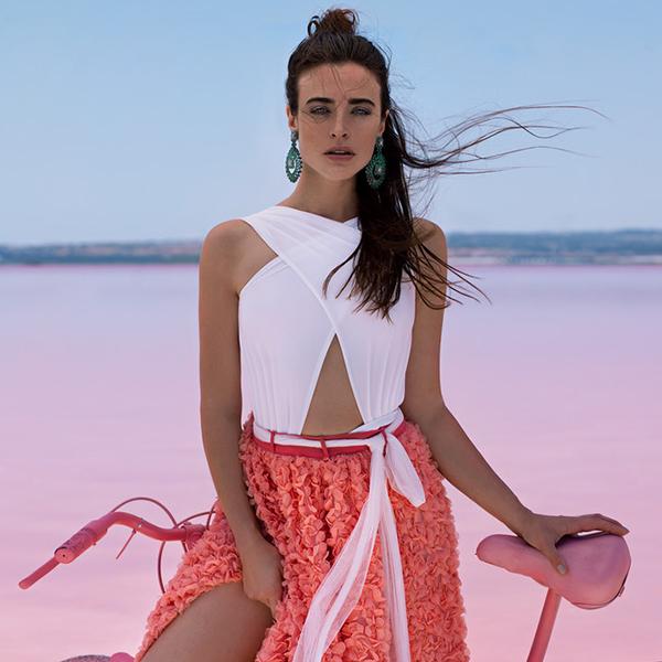 Pink Water of Salinas de Torrevieja