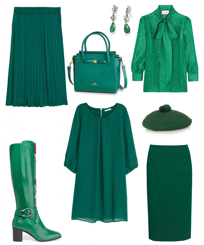 green color trend 2016