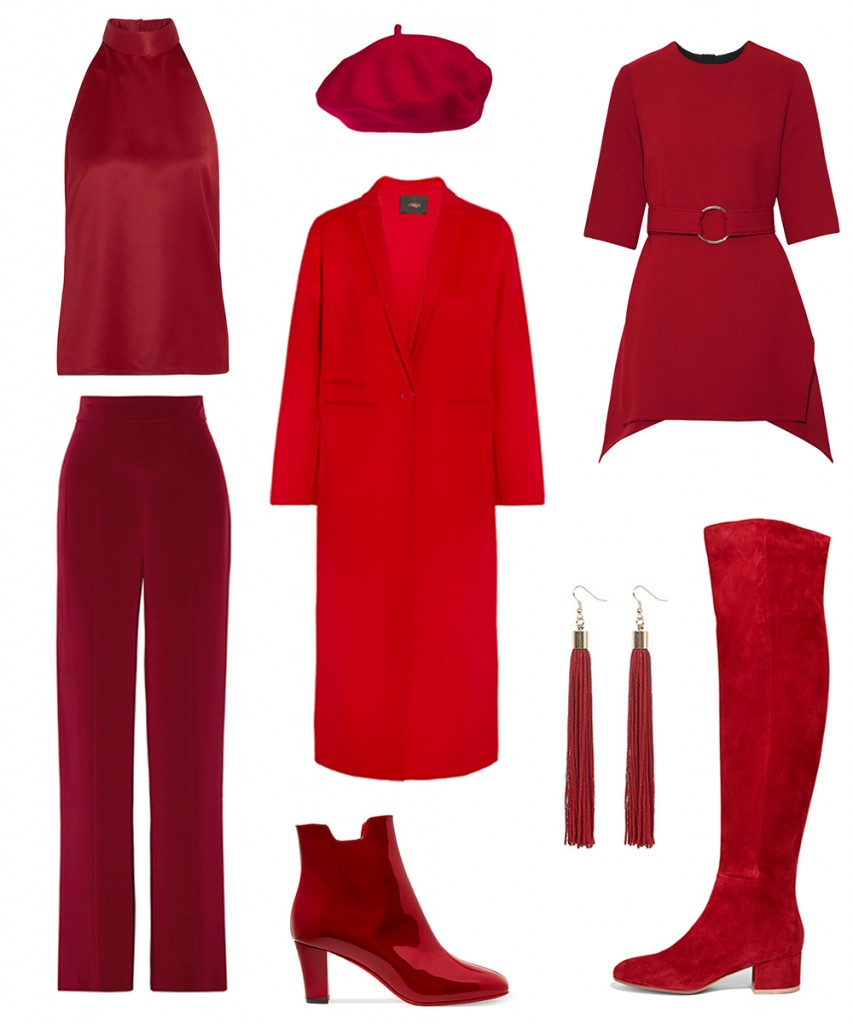 red color trend 2016