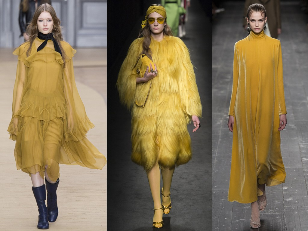 yellow catwalk