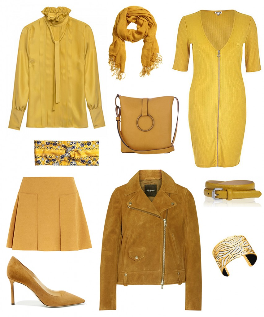 yellow color trend 2016