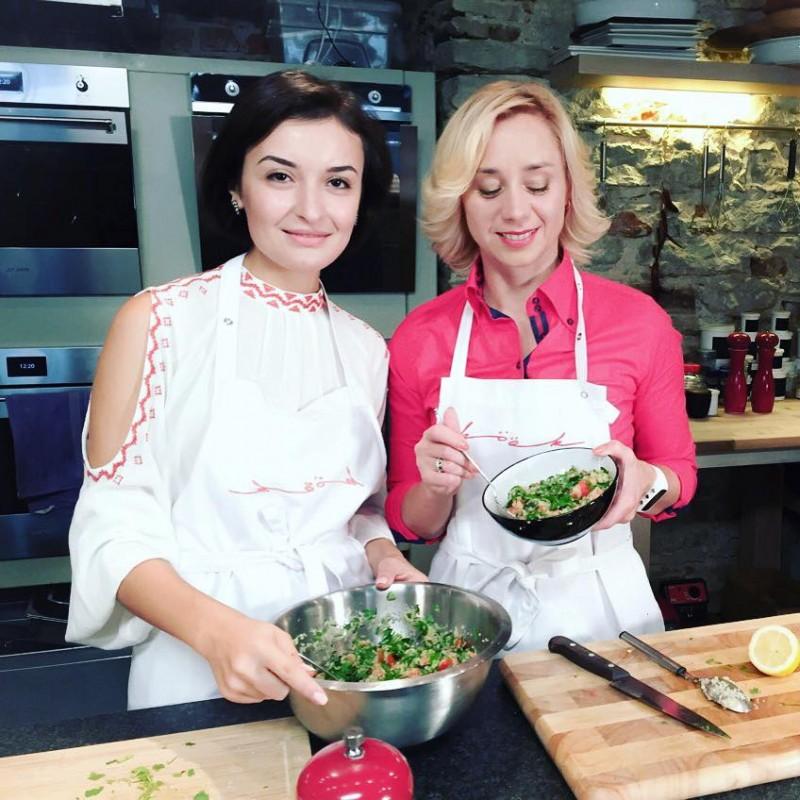 На кухне с Соломиной. ETV+