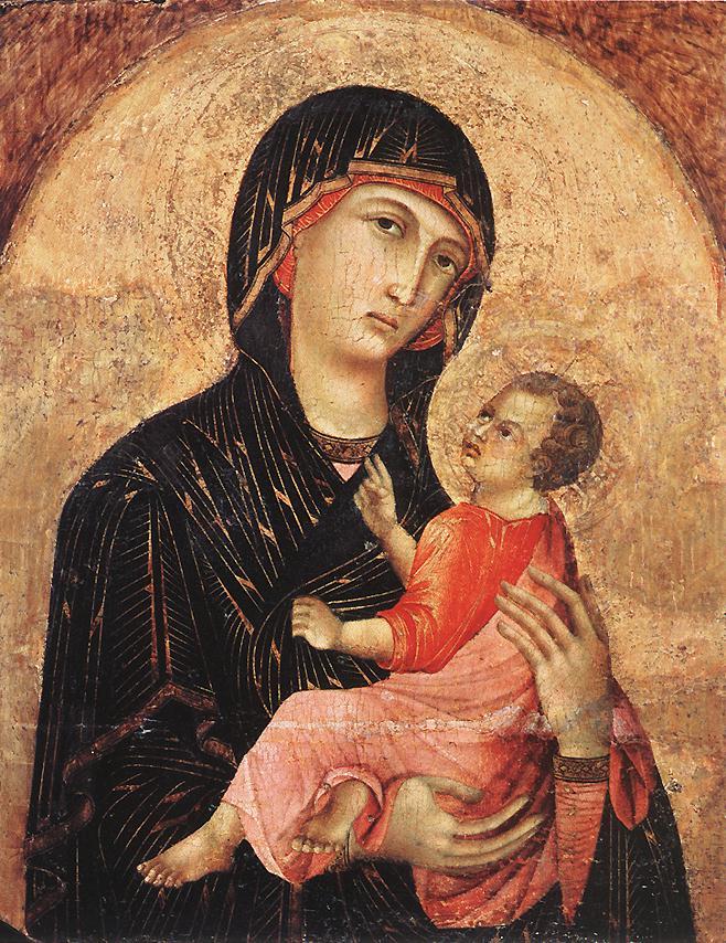 Madonna and Child Duccio di Buoninsegna