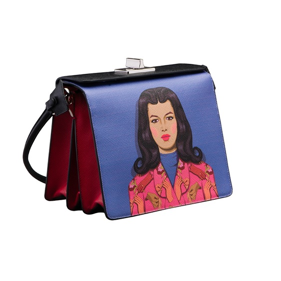 Prada-BlueRed-Printed-Shoulder-Bag-Spring-2014