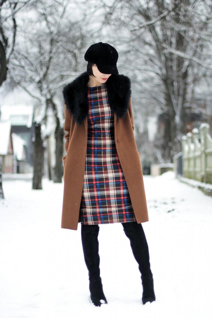Winter camel coat 1