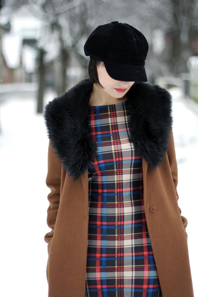 Winter camel coat 2
