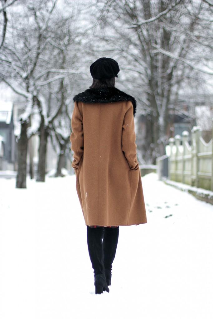 Winter camel coat 4