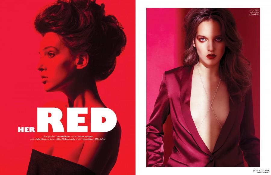HER RED jute magazine