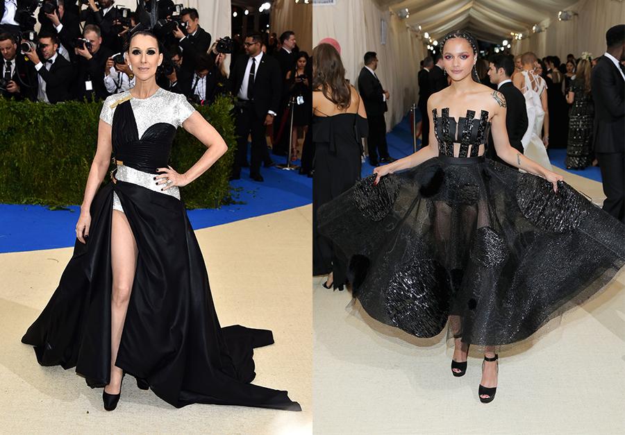 Celine Dion In Versace cut