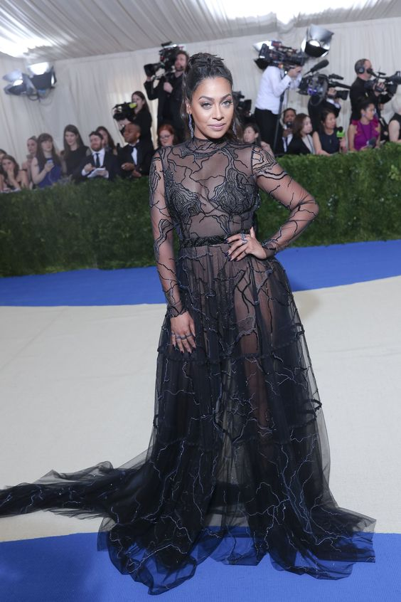 La La Anthony in custom Thai Nguyen Atelier